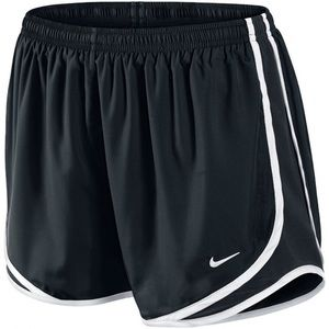 Nike Black Tempo Running Shorts White Trim